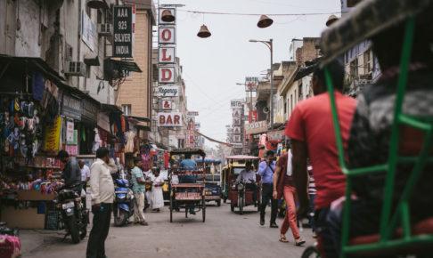 インデックス投資先のインドのイメージ