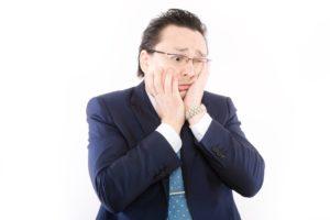 日本株が暴落してショックを受ける人